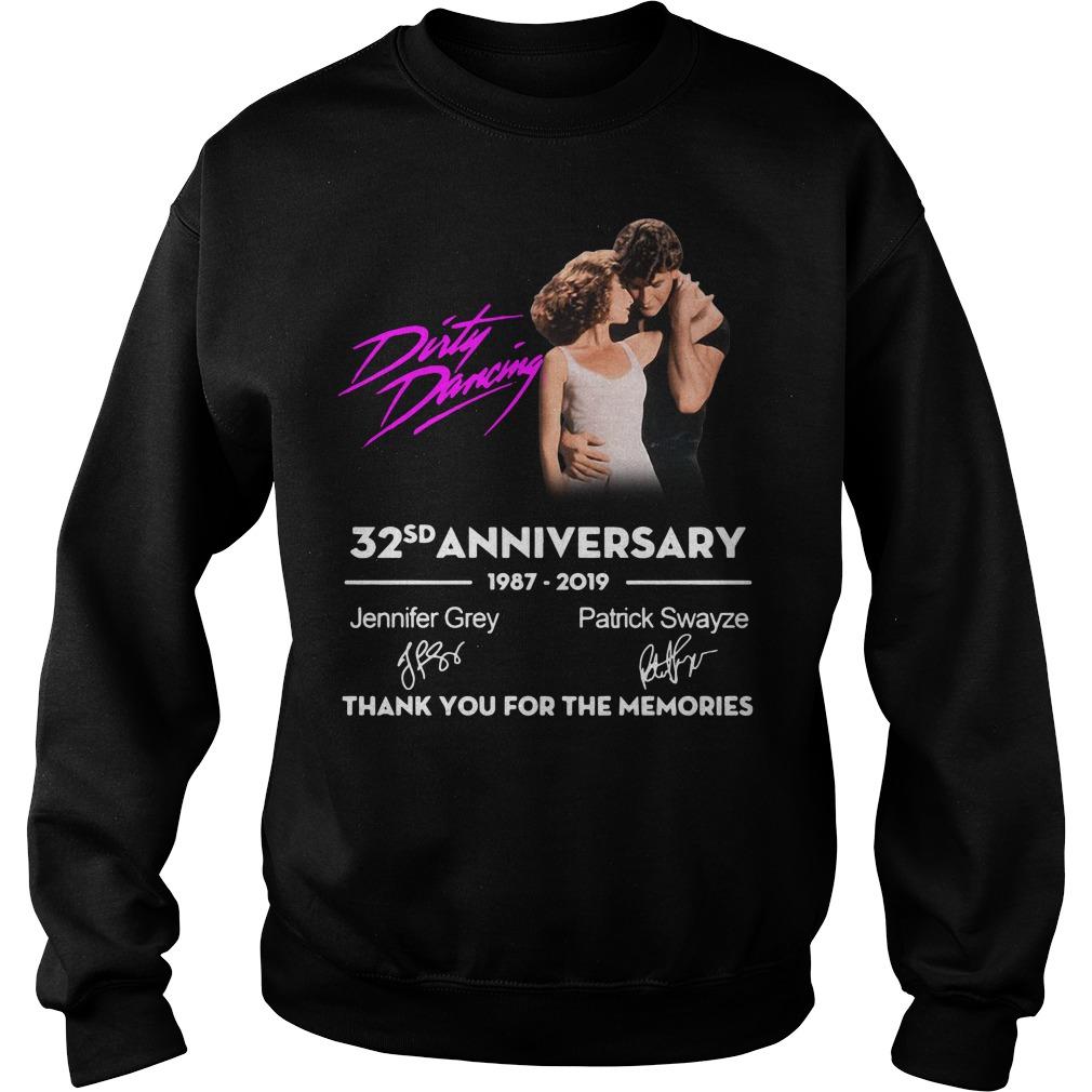 Dirty Dancing 32nd anniversary 1987-2Dirty Dancing 32nd anniversary 1987-2019 signatures shirt019 signatures Sweater