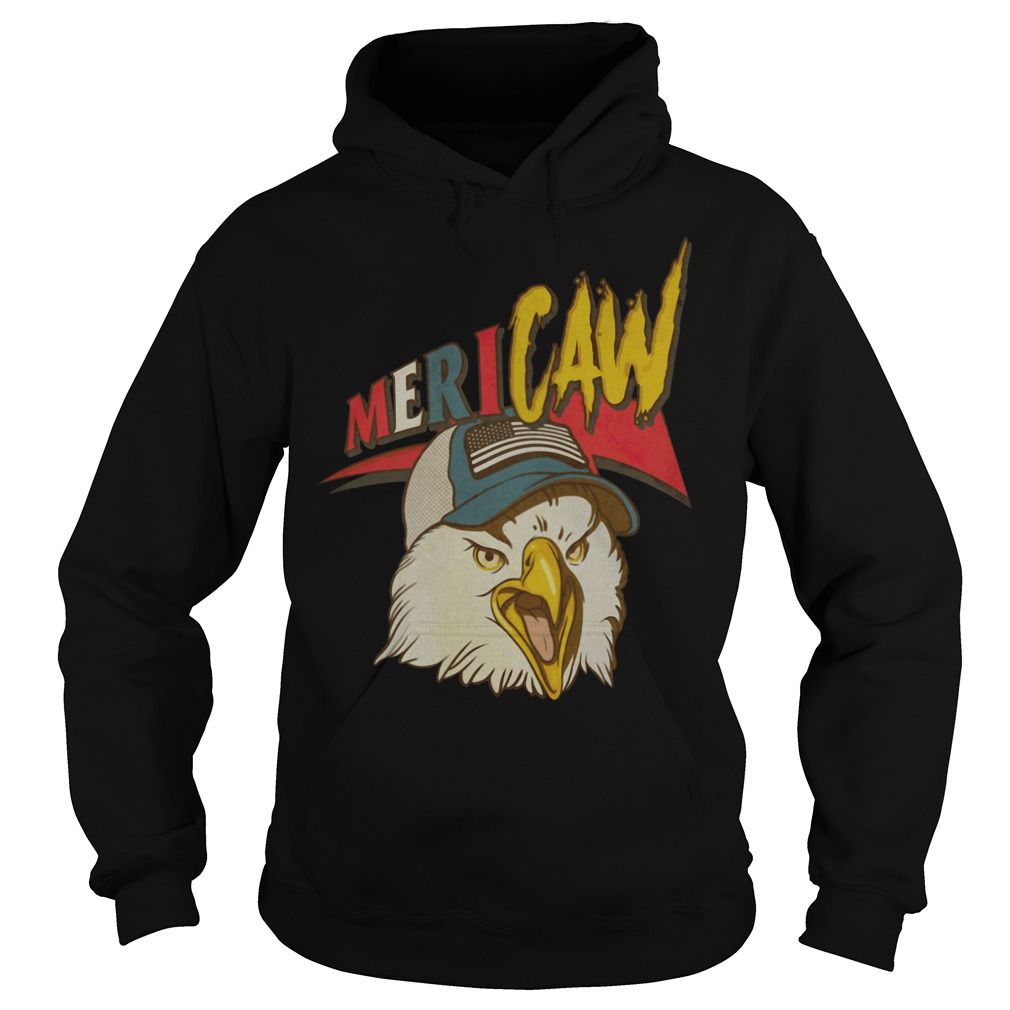 Eagle Independence day Mericaw Hoodie