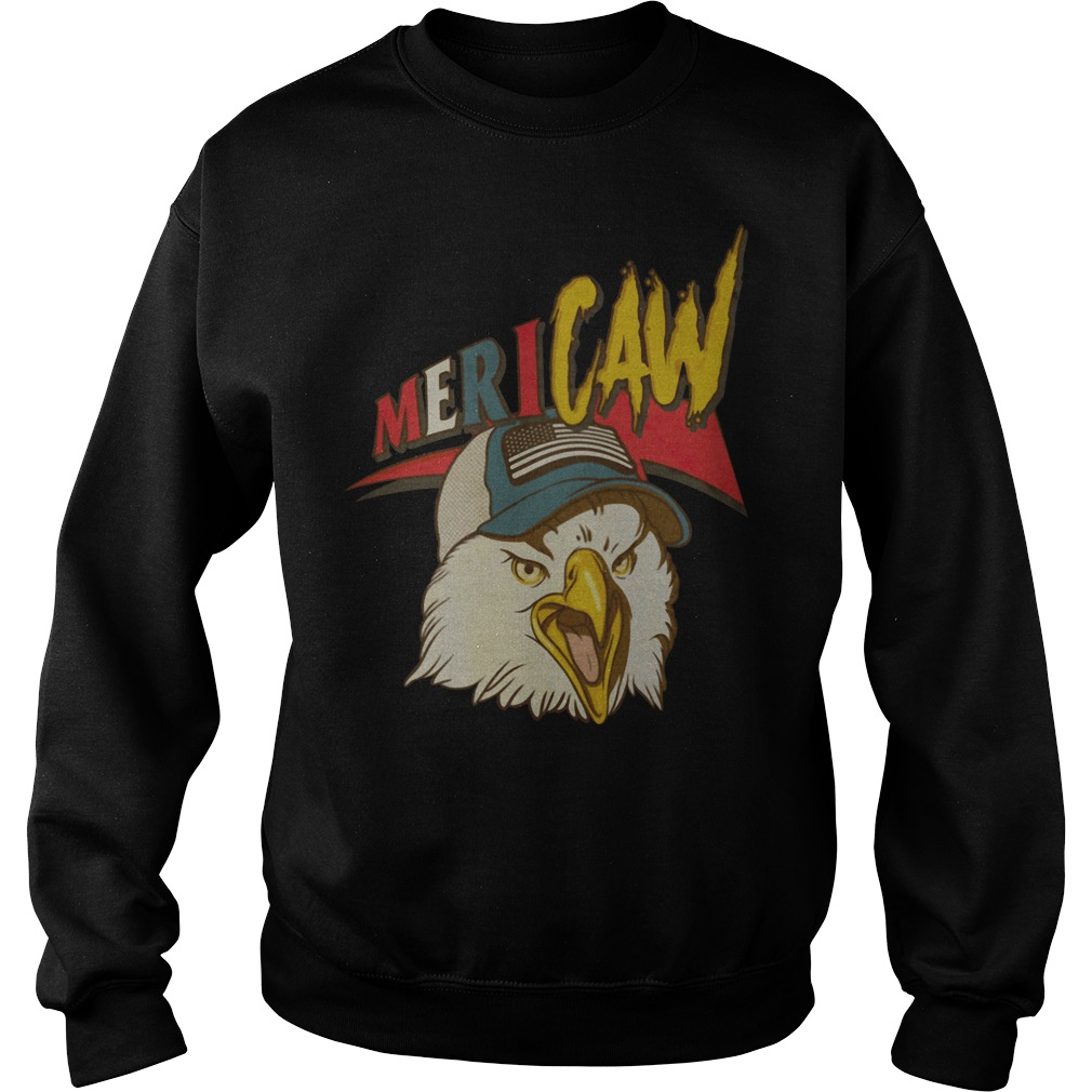 Eagle Independence day Mericaw Sweater
