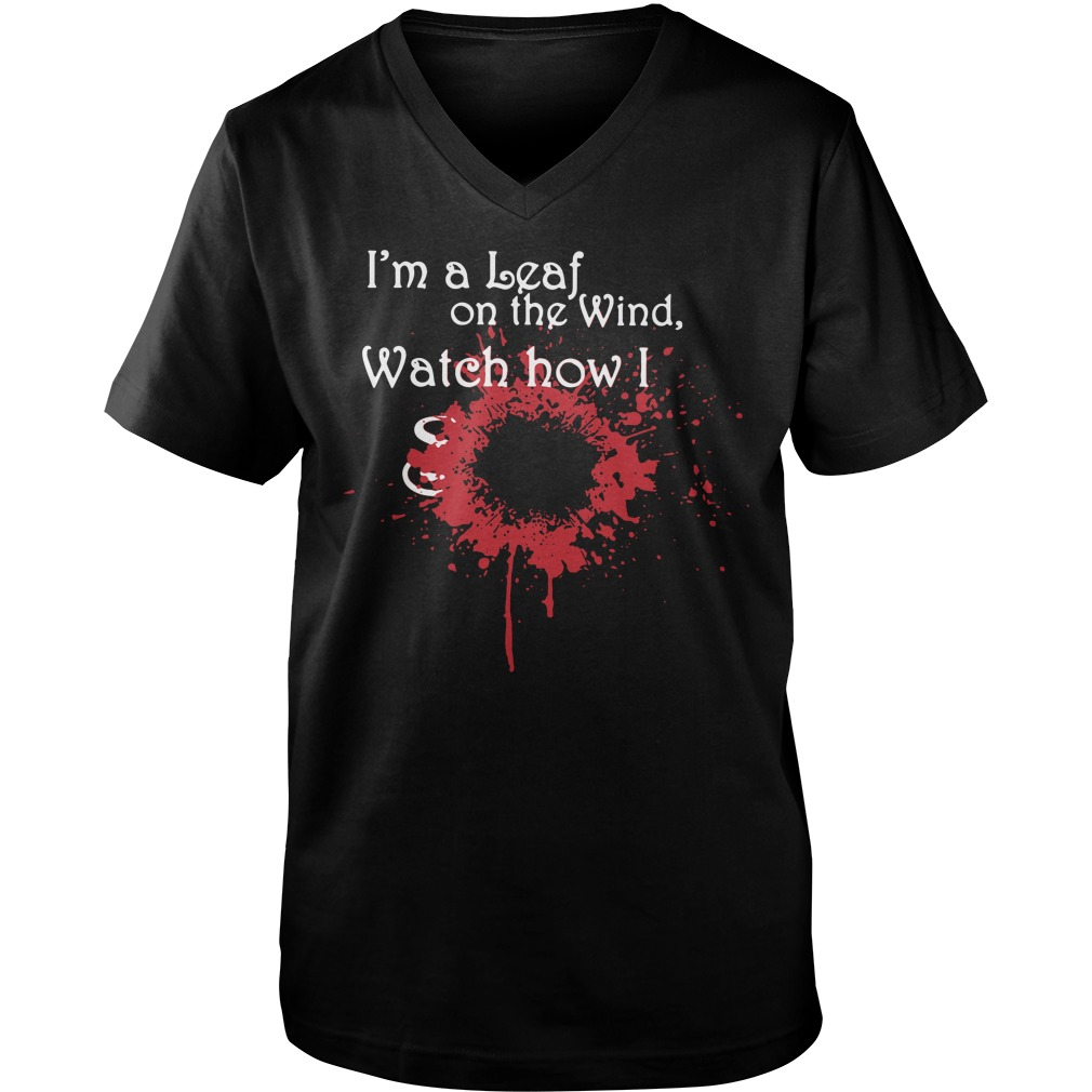Firefly I'm a leaf on the wind watch how I soar Guy V-Neck
