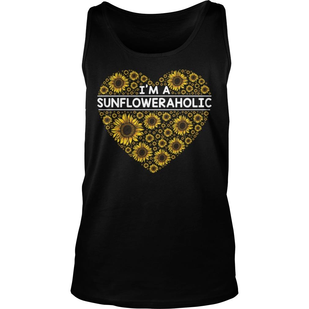 I'm a Sunfloweraholic Tank top