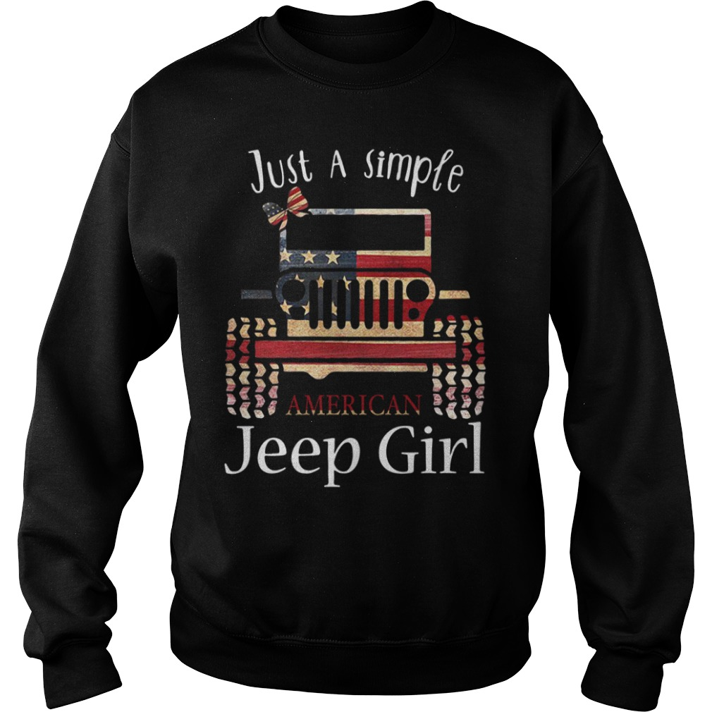 Just a simple American Jeep girl Sweater