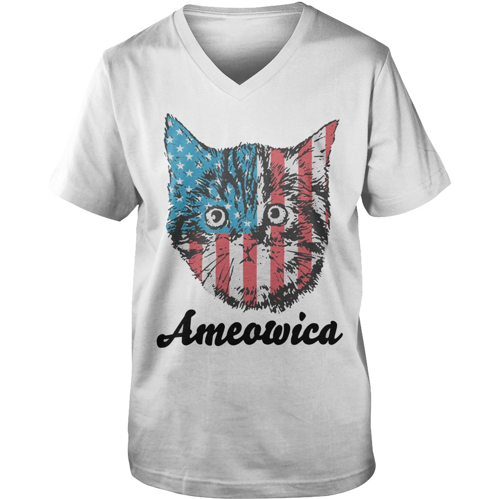 Mericat Ameowica Guy V-Neck