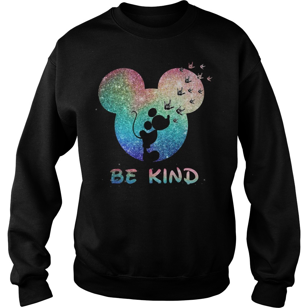 Mickey Mouse Disney love be kind Sweater