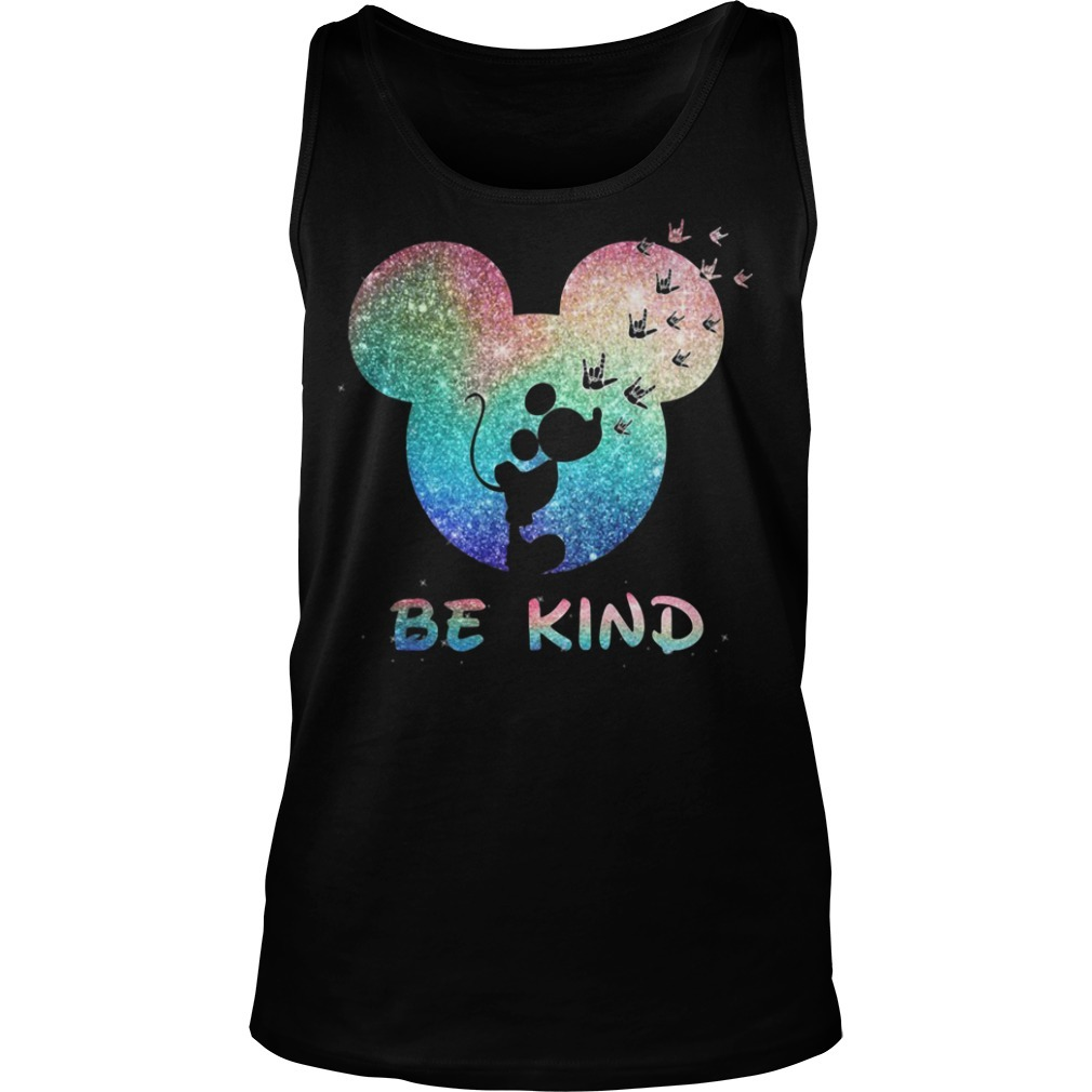 Mickey Mouse Disney love be kind Tank top