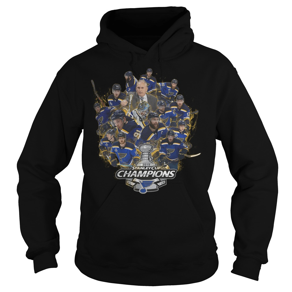 Official Stanley Cup Champions St Louis Blues Hoodie