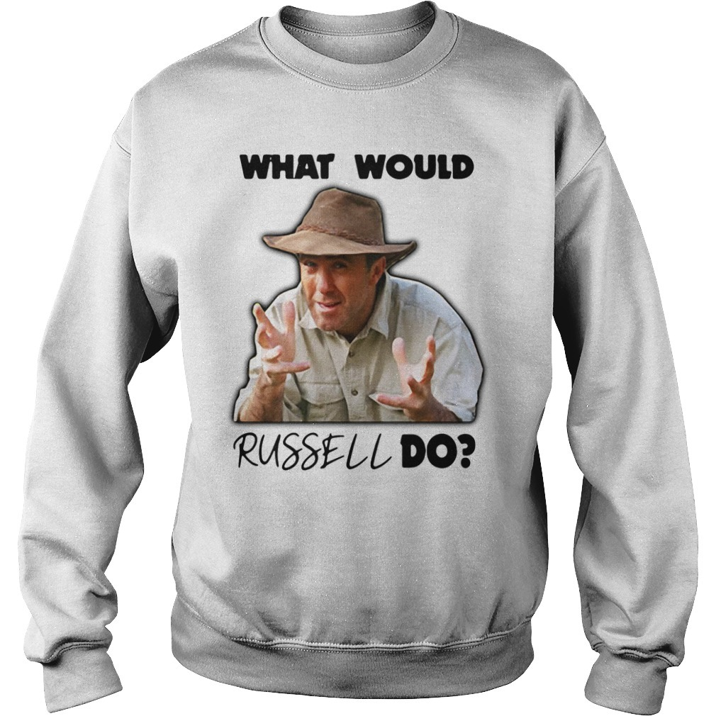 Russell Coight what would Russell do Sweater
