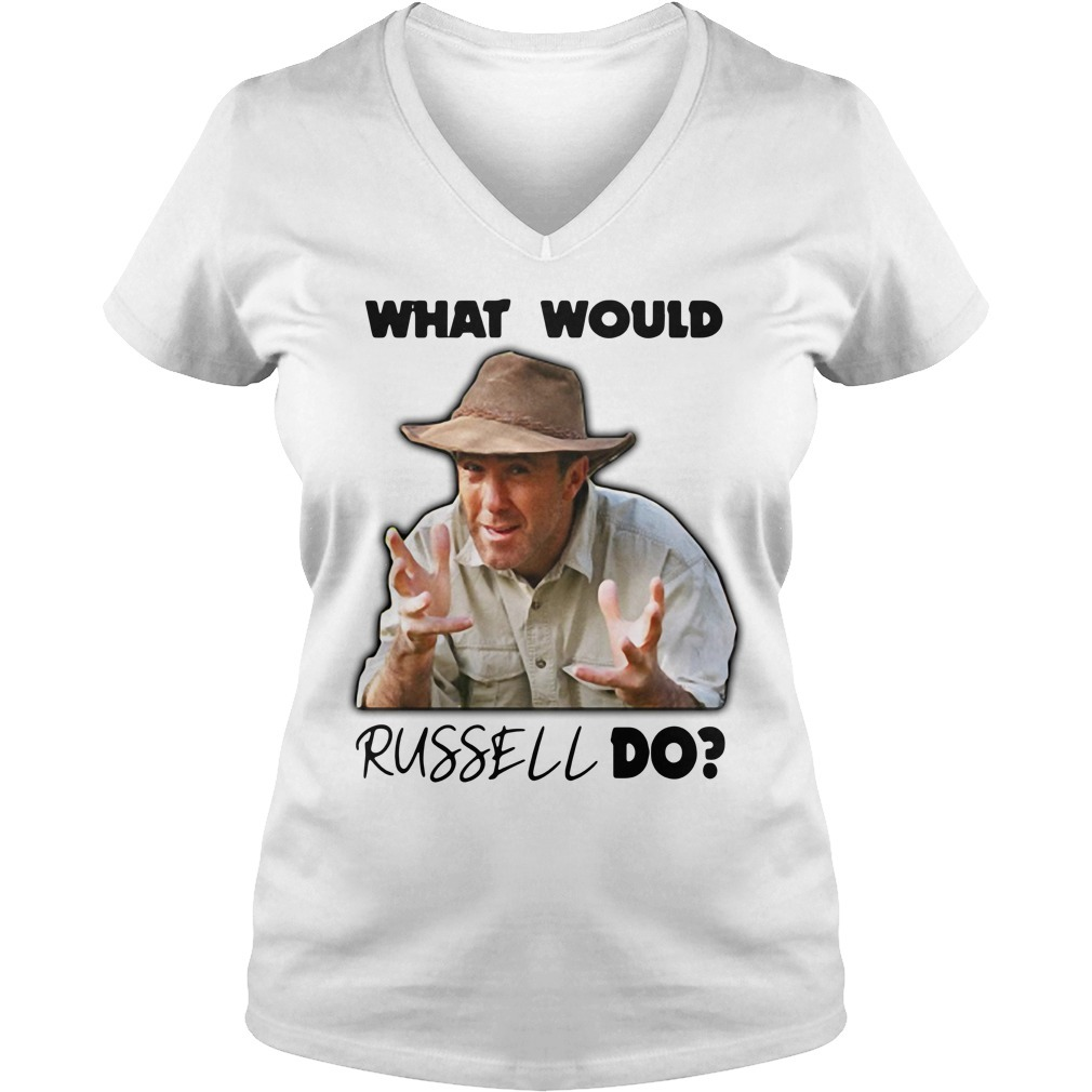 Russell Coight what would Russell do V-neck T-shirt