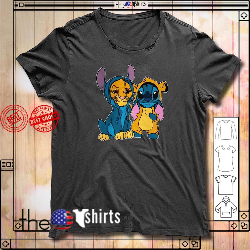 Simba and stitch best friend shirtSimba and stitch best friend shirt