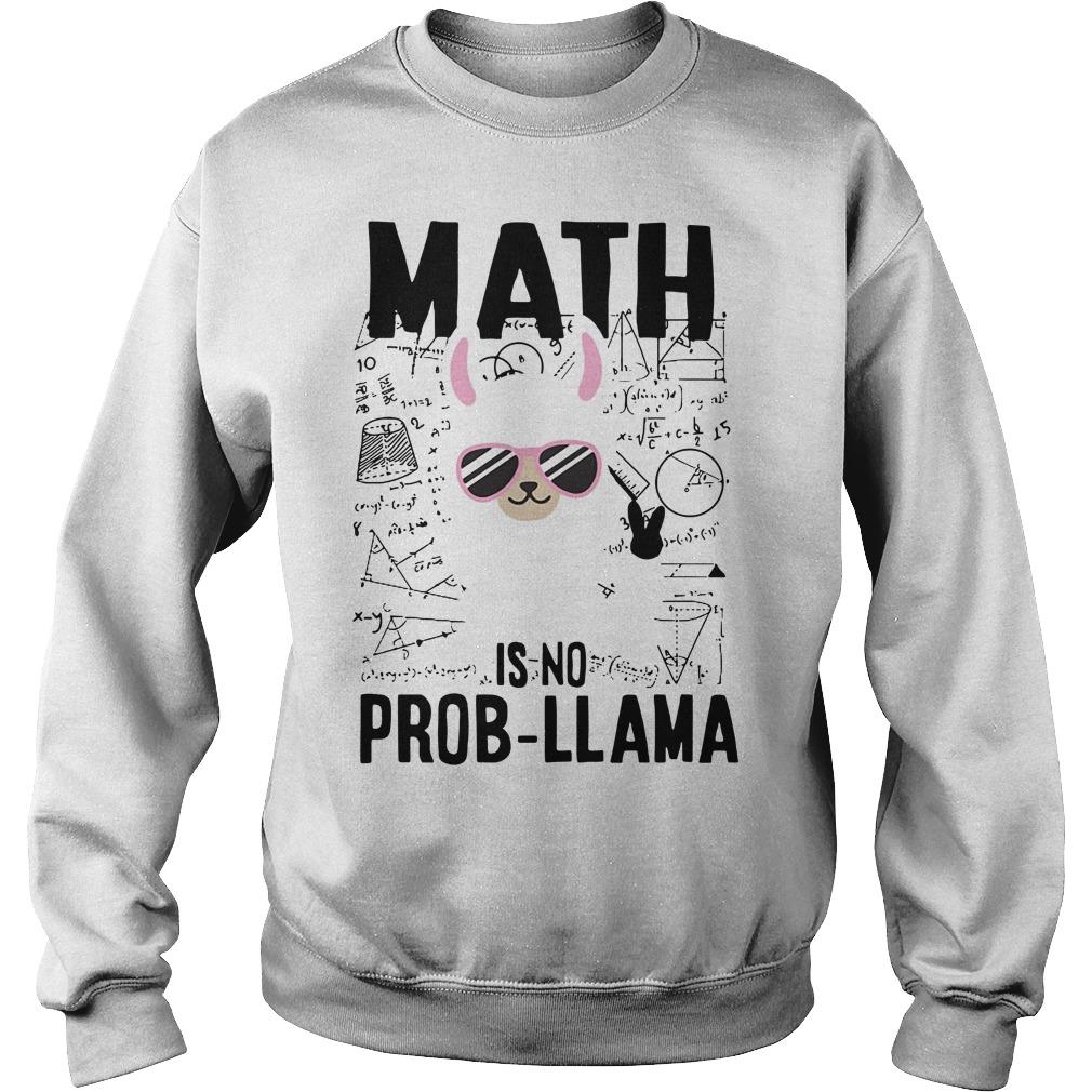 Teacher's day math is no prob-llama Sweater