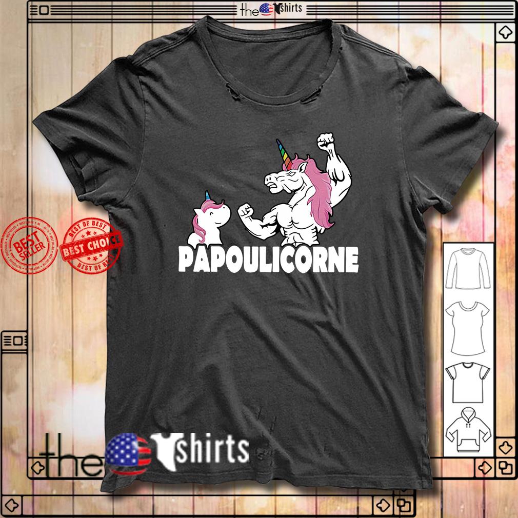 Unicorn Papoulicorne shirt