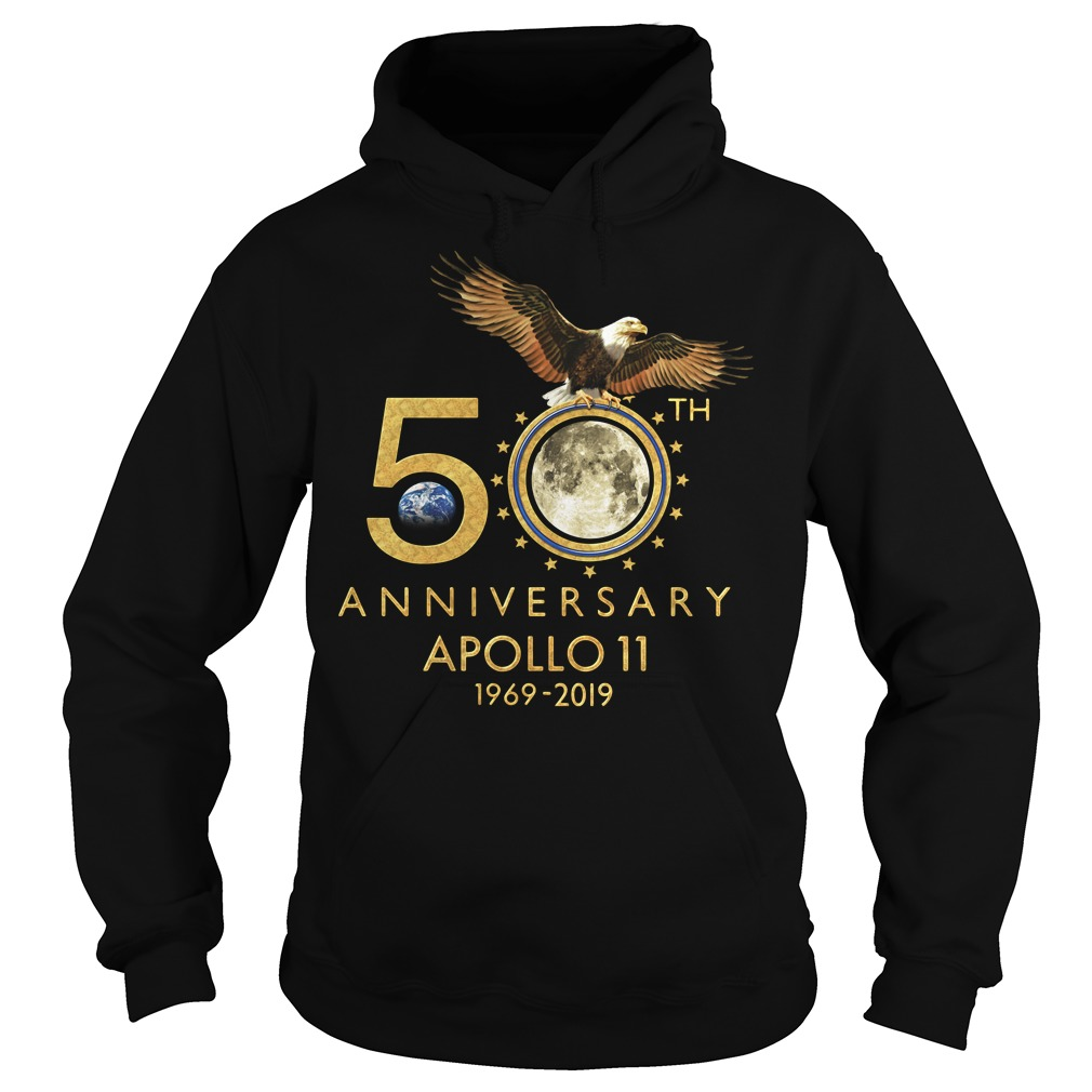 1969-2019 50th Anniversity Apollo 11 Hoodie