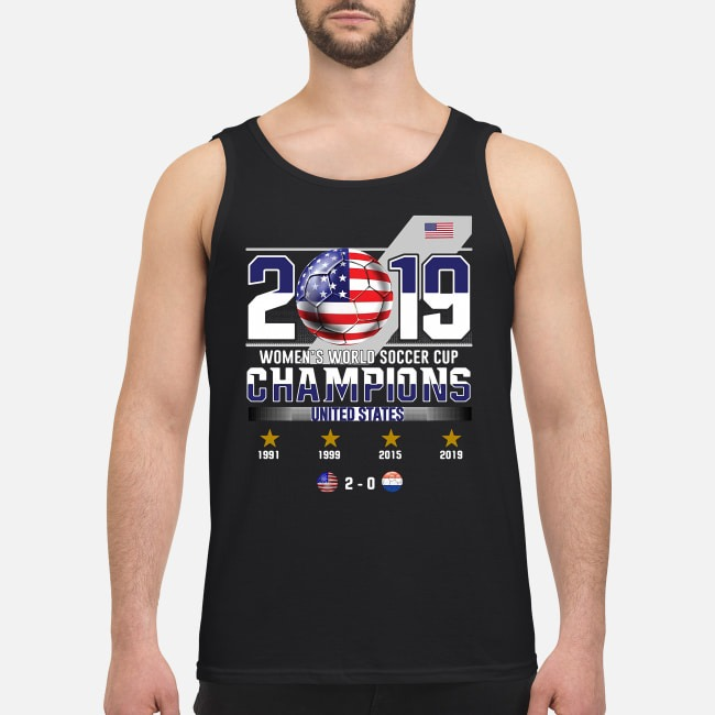 2019 Women's World Soccer Cup Champions United States Tank top