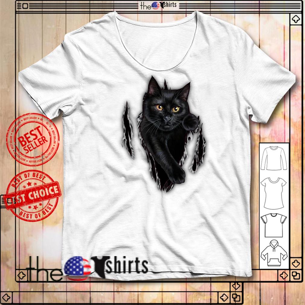 Cat scratch cat inside me shirt
