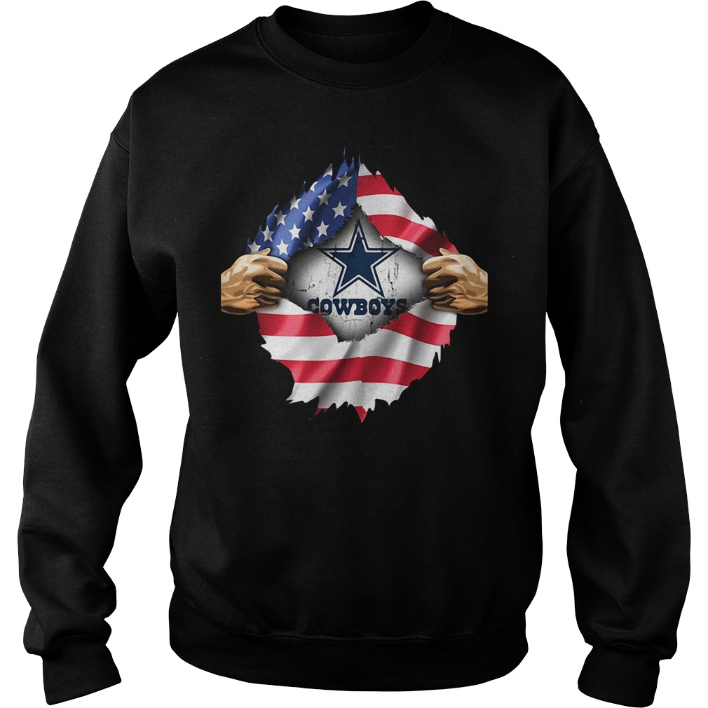 4th Of July independence day Dallas Cowboys Sweater