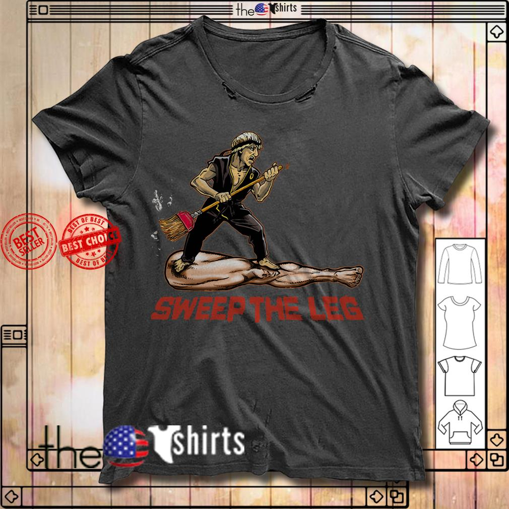 Karate Sweep the leg shirt