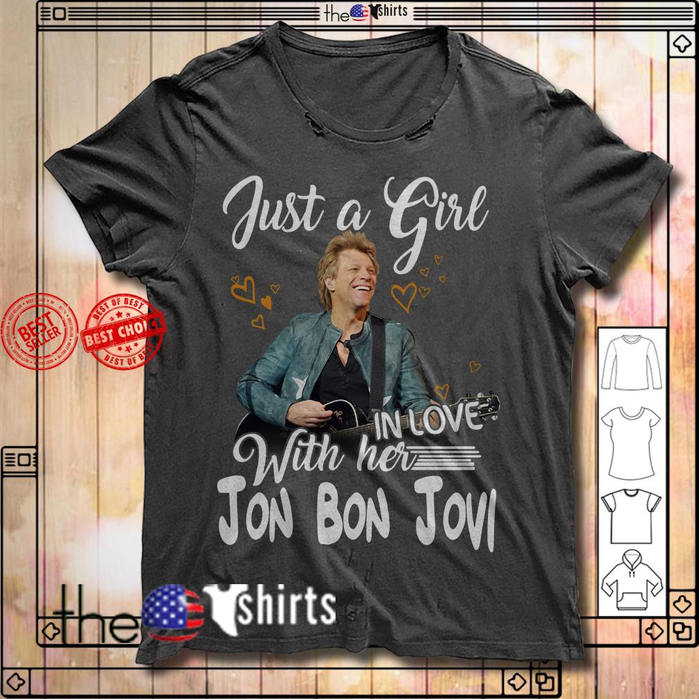 Official Jon Bon Jovi just a girl with her shirt