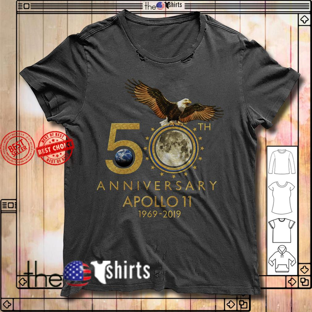 1969-2019 50th Anniversity Apollo 11 shirt