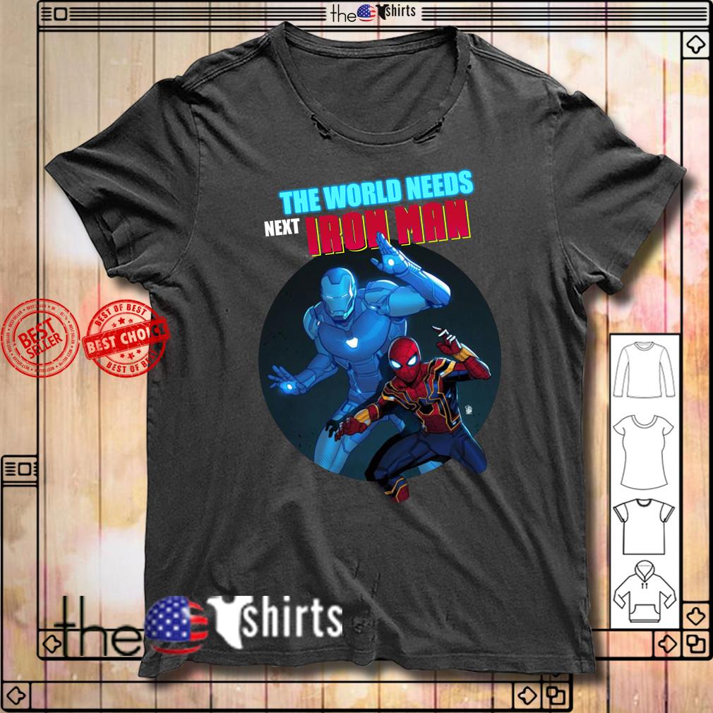 Spider-Man the world needs next Iron Man shirt