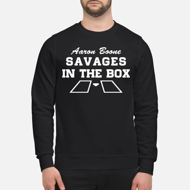 Aaron Boone savages in the box Sweater