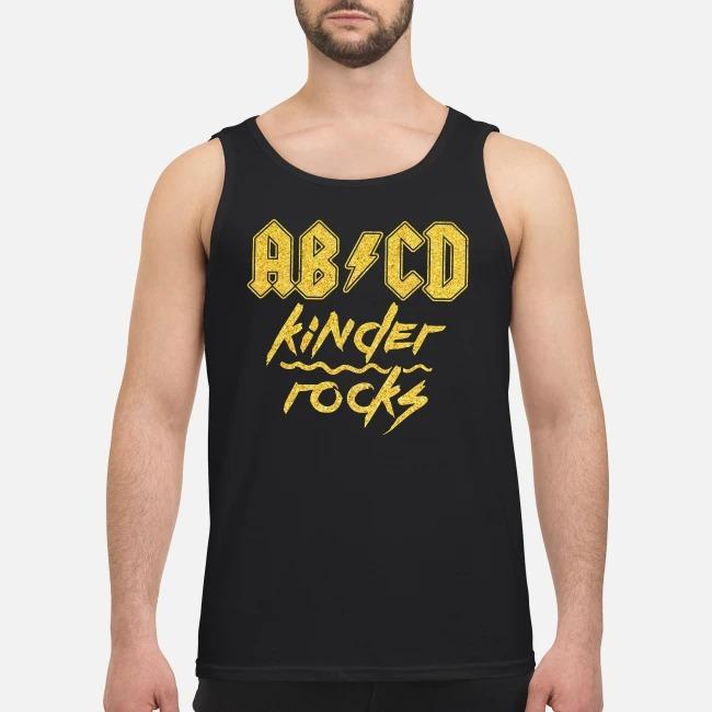 AB/CD Kinder rocks Tank top