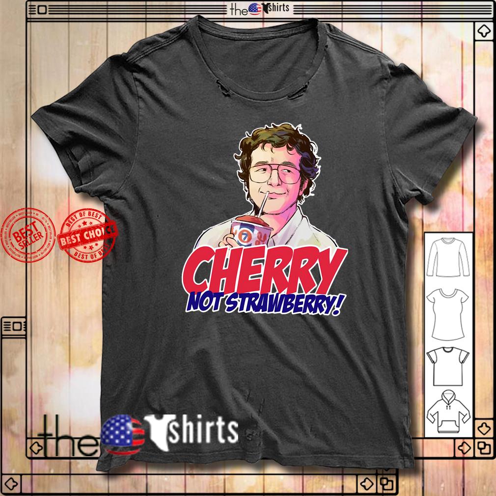 Alexei cherry not strawberry Stranger Things shirt