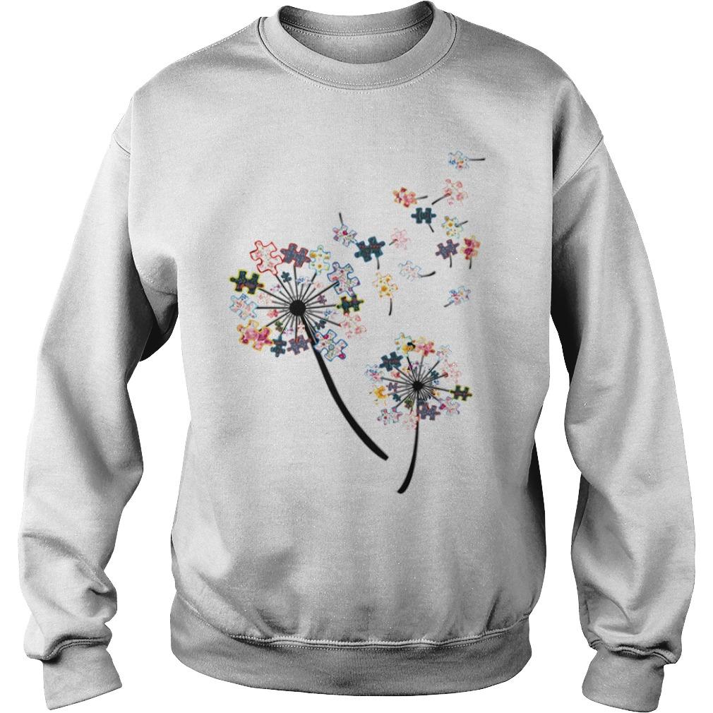 Awareness autism flower Sweater