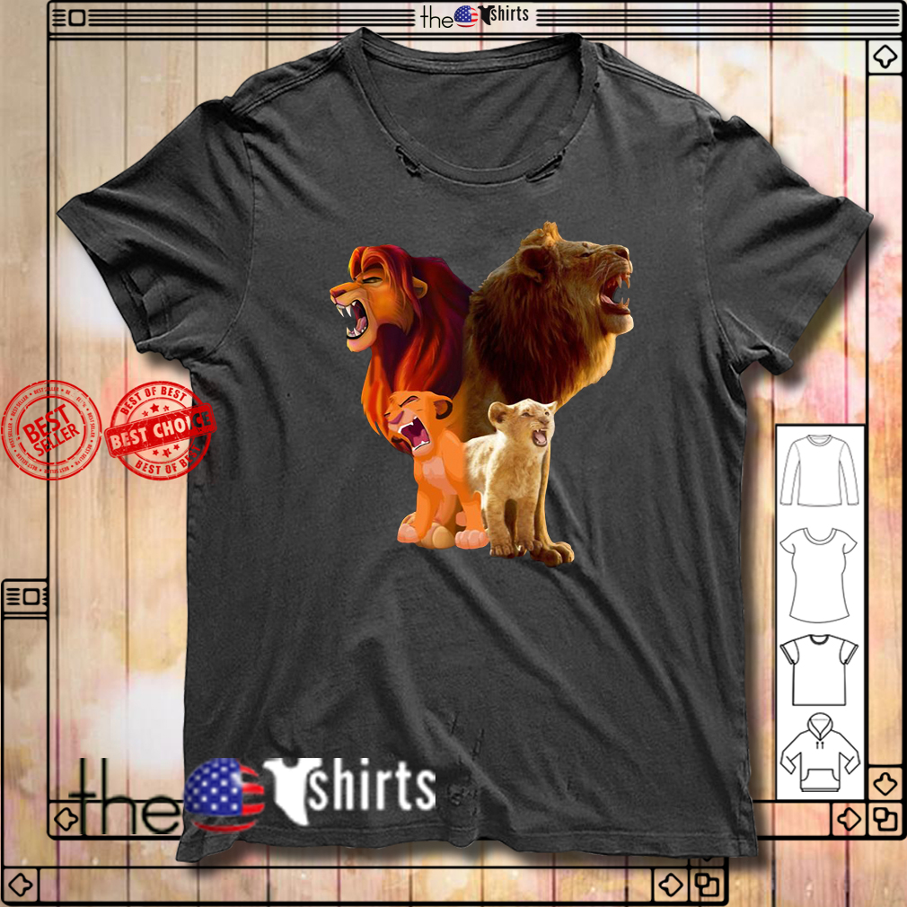 Baby Lion and adut lion The Lion King 2019 shirt