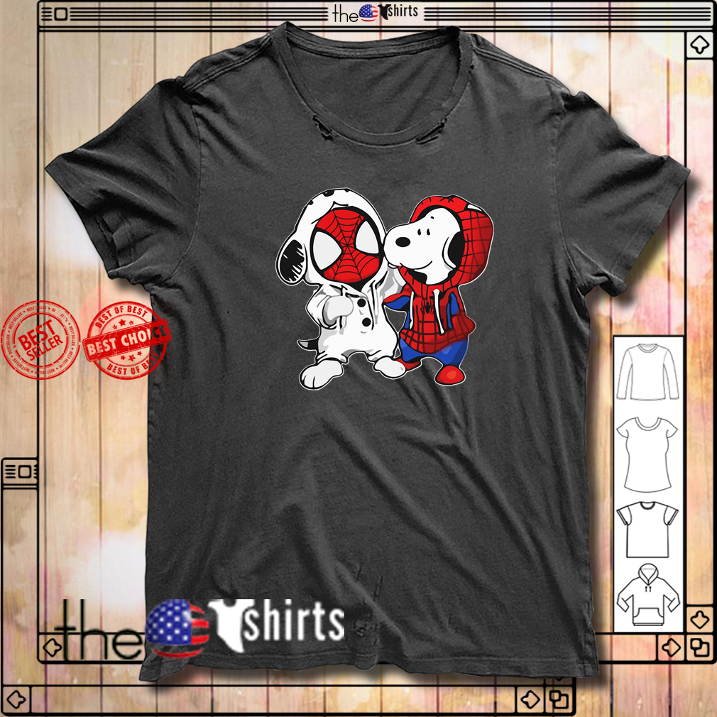 Baby Spiderman and Snoopy shirt