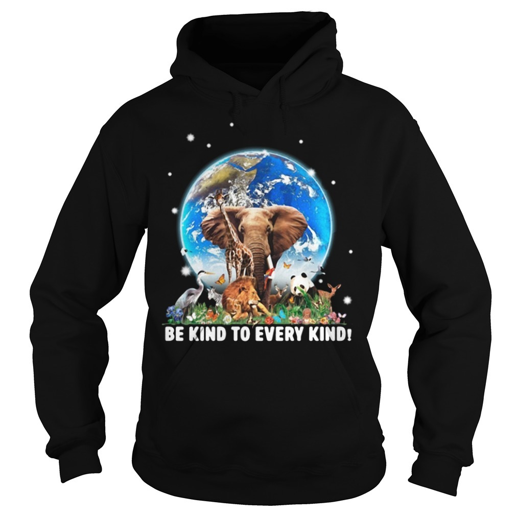 Be kind to every kind Animal Hoodie
