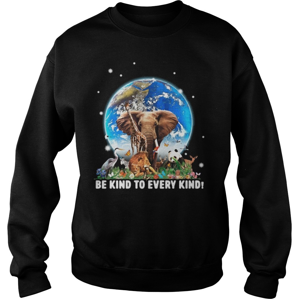 Be kind to every kind Animal Sweater