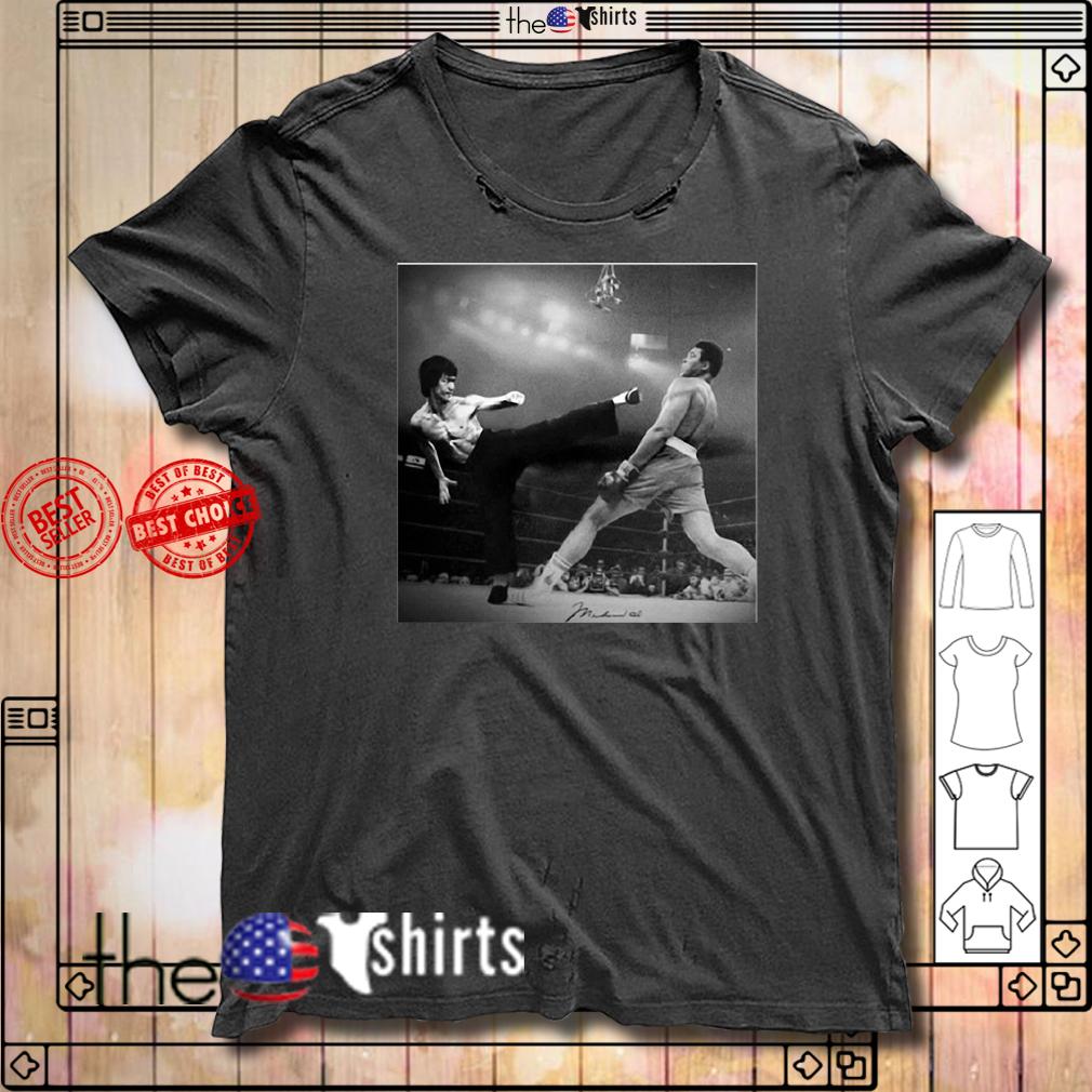 Bruce Lee Vs Muhammad Ali shirt