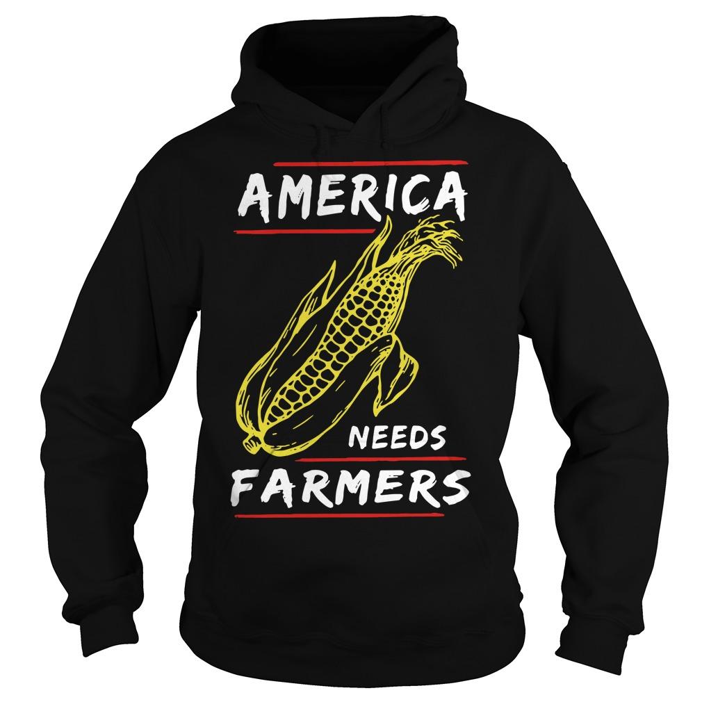 Corn Famer America Hoodie