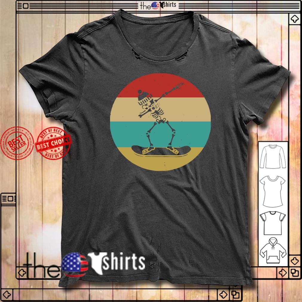 Dabbing Skeleton skateboard vintage shirt