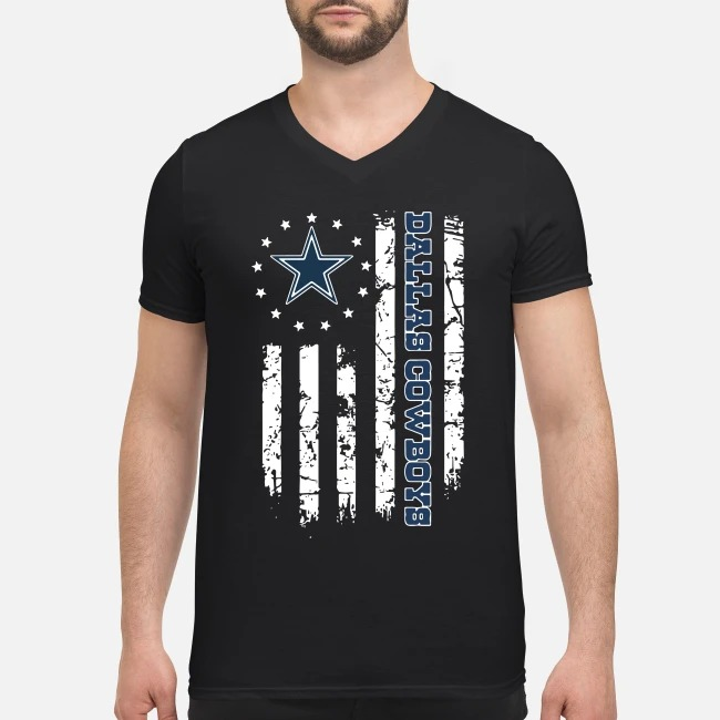 Dallas Cowboys Betsy Ross flag 4th of July independence day V-neck T-shirt