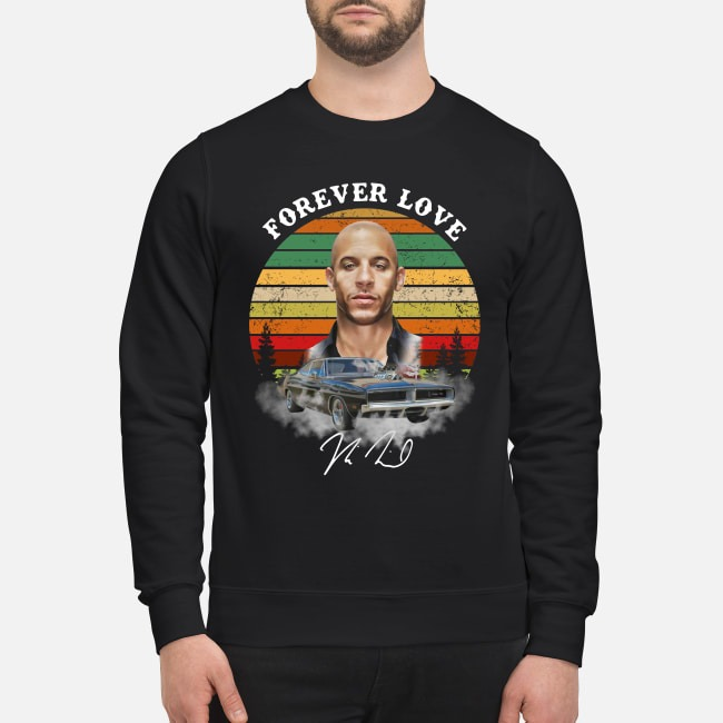 Dominic Toretto forever love sunset Sweater