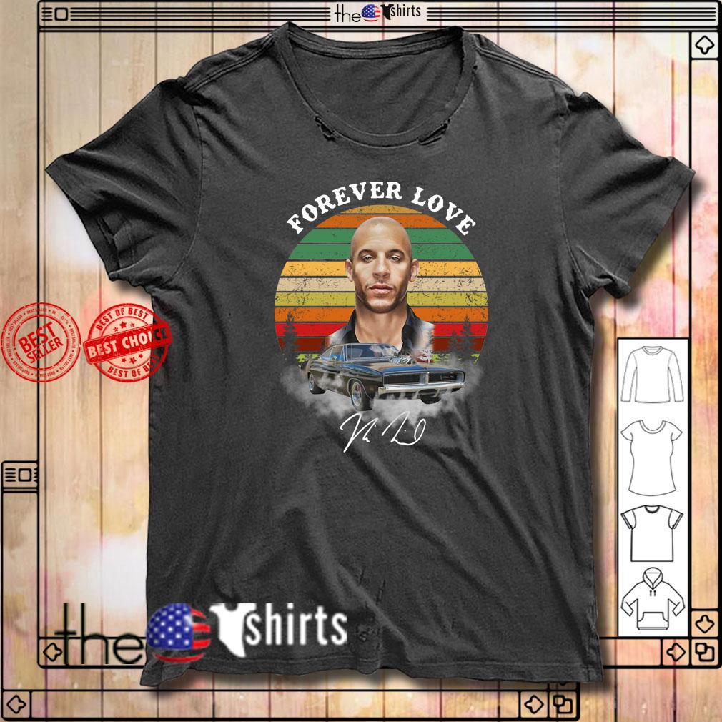 Dominic Toretto forever love sunset shirt