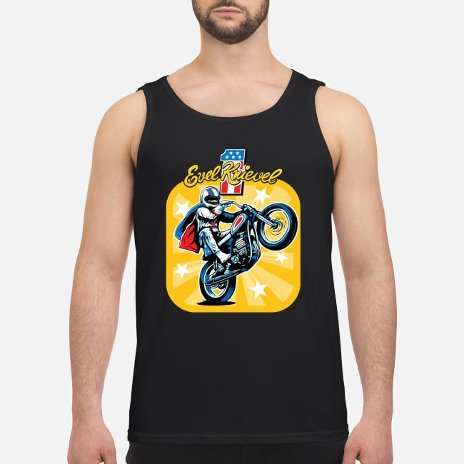 Evel Knievel Motorcycles Tank top