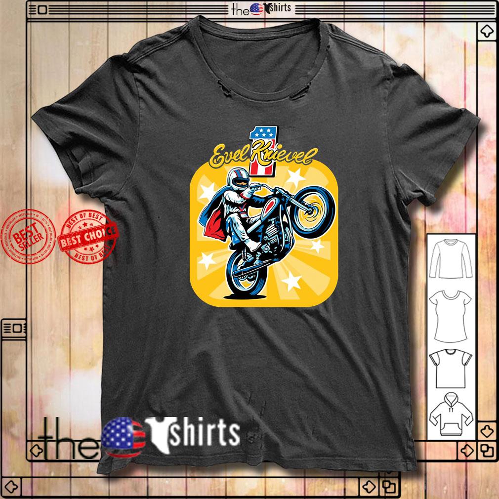 Evel Knievel Motorcycles shirt
