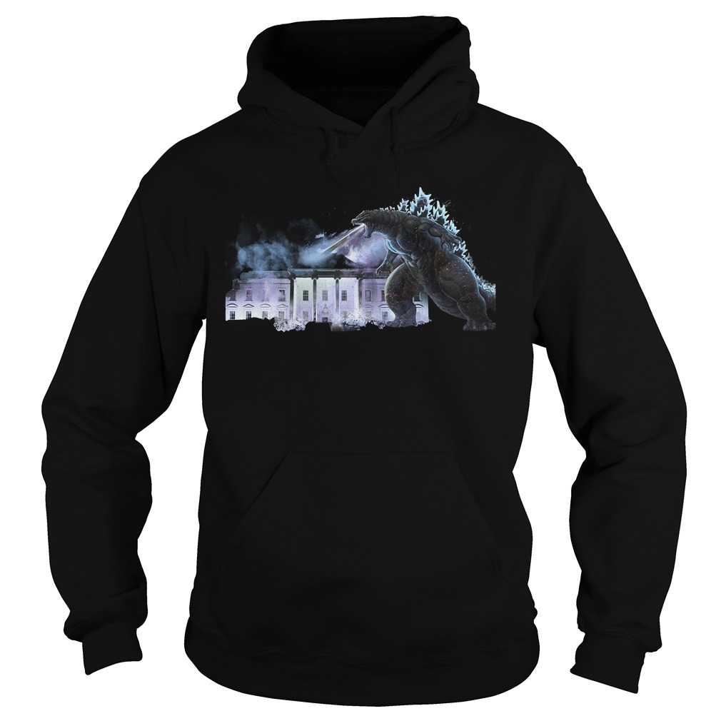 Godzilla atomic breath The White House King of the Monsters Hoodie