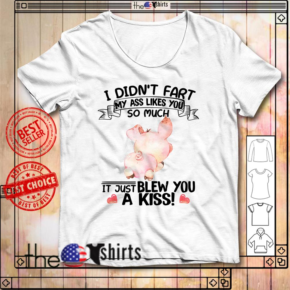I didn't fart my ass likes you so much Pig shirt