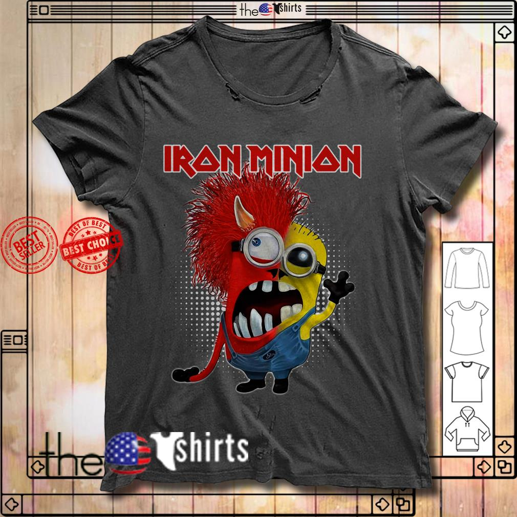 Iron Maiden Iron Minion on patch shirt