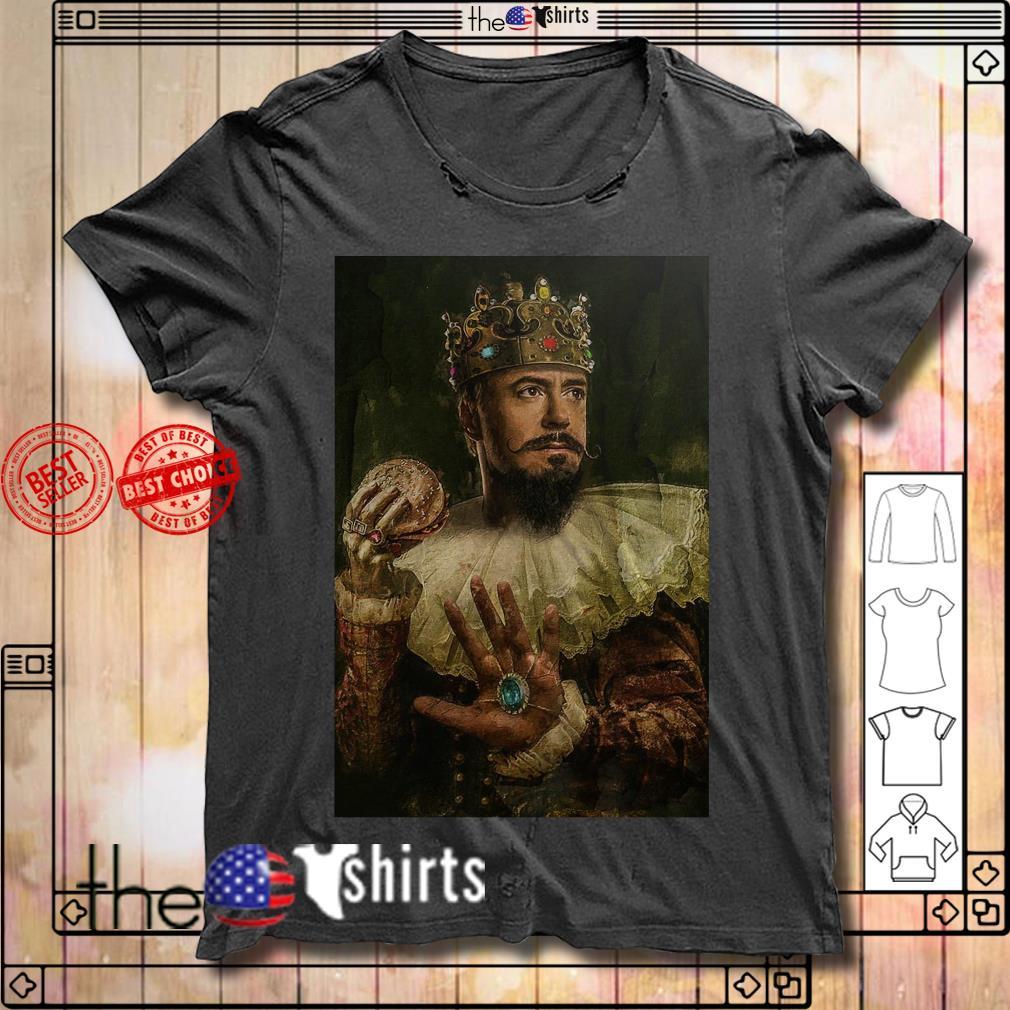 Iron man King shirt