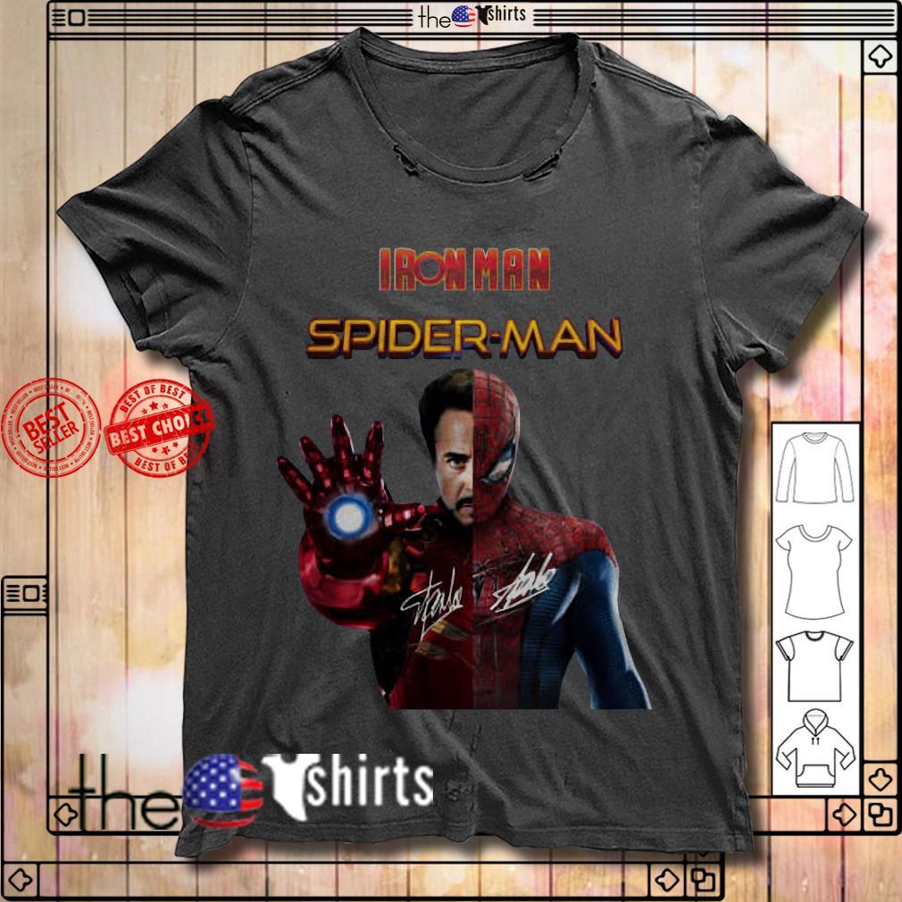 Iron man Spider-Man shirt