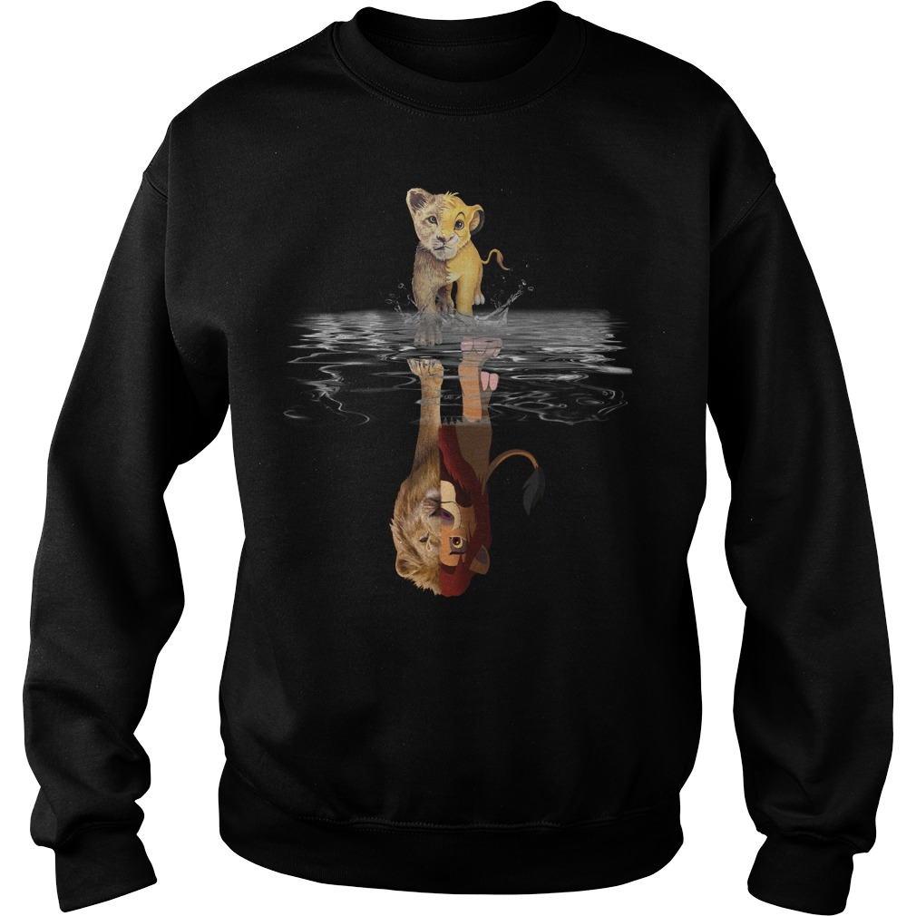 Lion King Reflection believe in yourself shirt