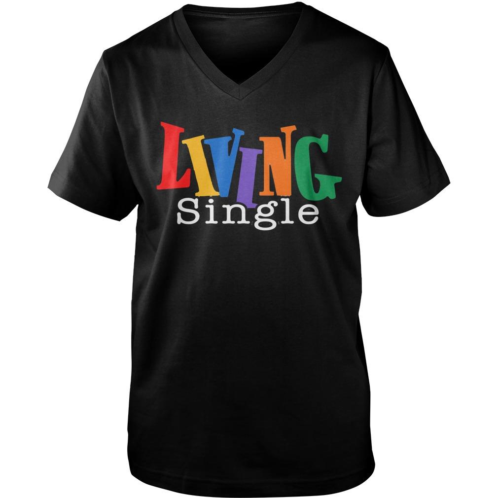 Living Single 2019 LGBT Guy V-Neck