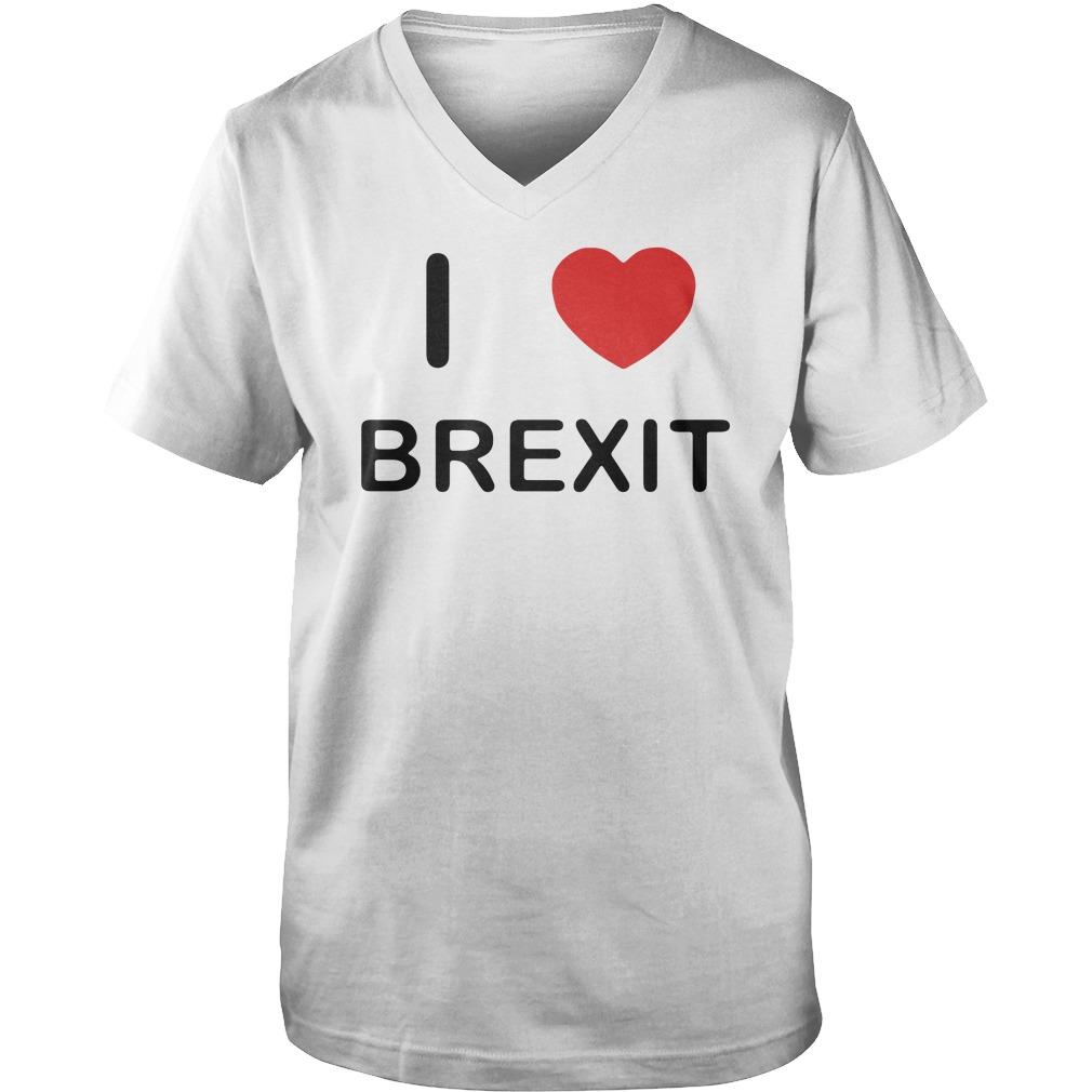 I love Brexit Guy V-Neck
