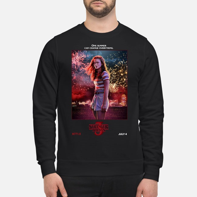 Max one summer can change everything Stranger Things season 3 Sweater