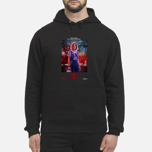 Maya Hawke one summer can change everything Stranger Things season 3 Hoodie