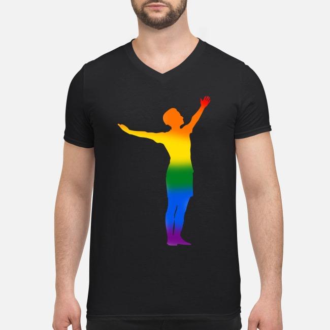 Megan Rapinoe pride LGBT V-neck T-shirt